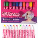 Temporary hair chalk for kids, GirlZone hair chalk