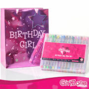 Gel Pen With Birthday Bag