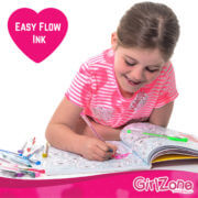 Jess with Easy Flow Ink