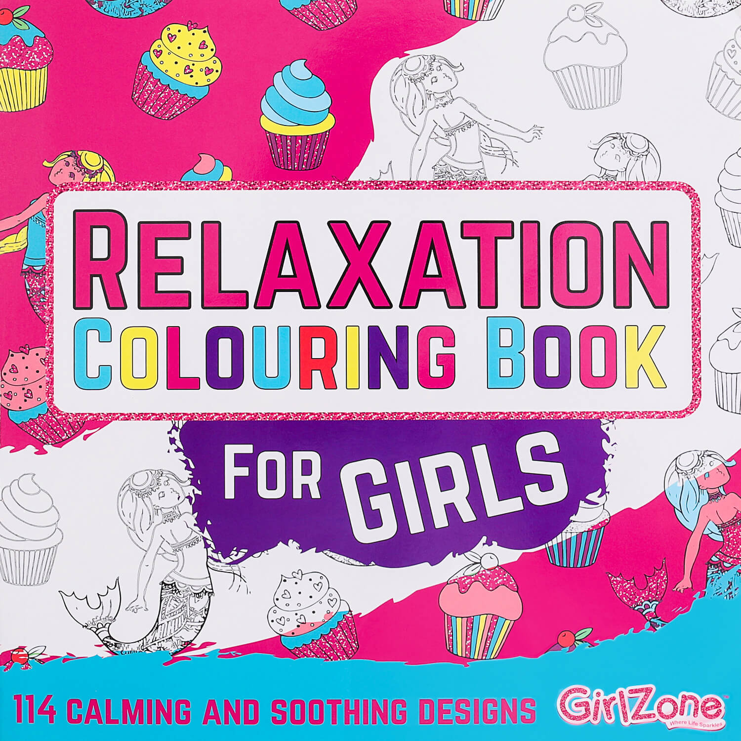 Colouring book for girls, Colouring book for kids