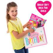 Birthday present girls age 8 bag