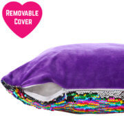 Colour changing pillow removable cover