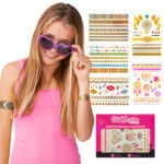 Temporary tattoos for girls, Flash tattoos for girls, Tattoos that sparkle