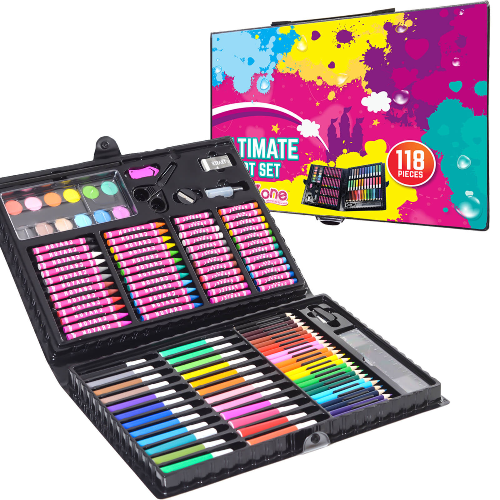 Ultimate art set for girls, Bumper art box set