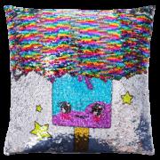 Sequin Pillow Half