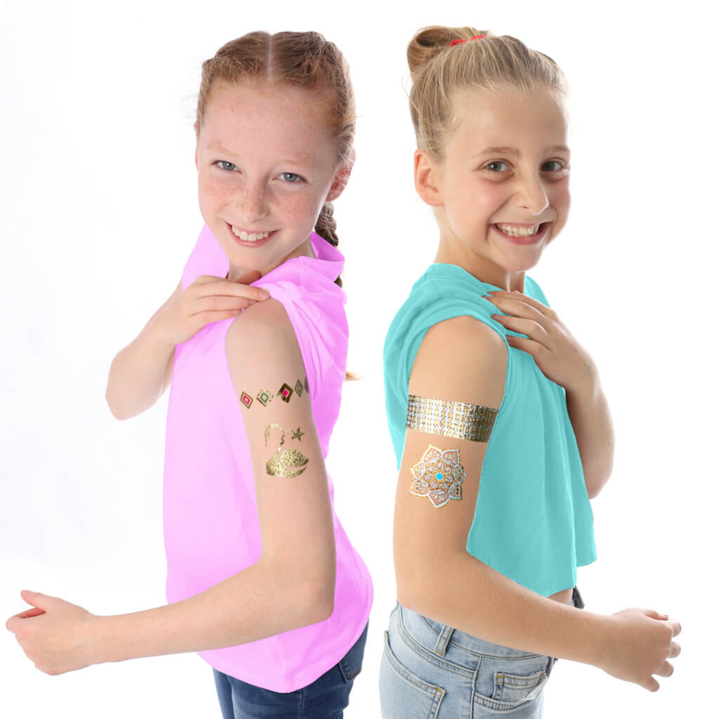GirlZone Temporary Tattoos