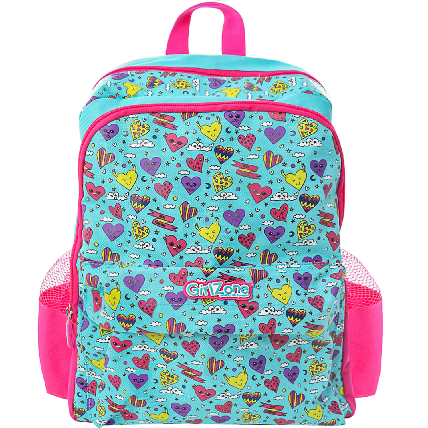 GirlZone Blue Backpack