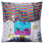 Sequin Pillow Half