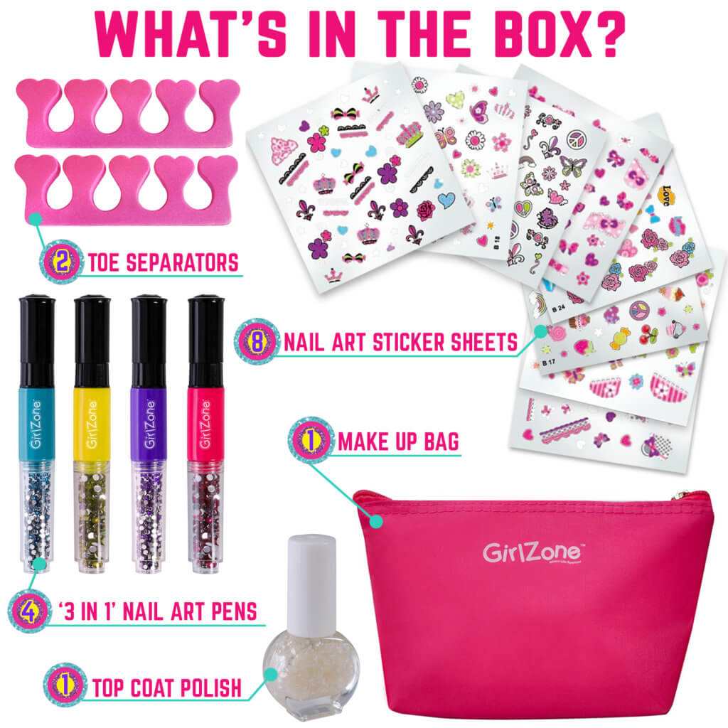 Nail Art Studio - what's in the box?