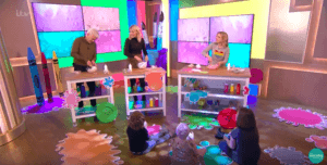 Watch Holly & Phil making slime