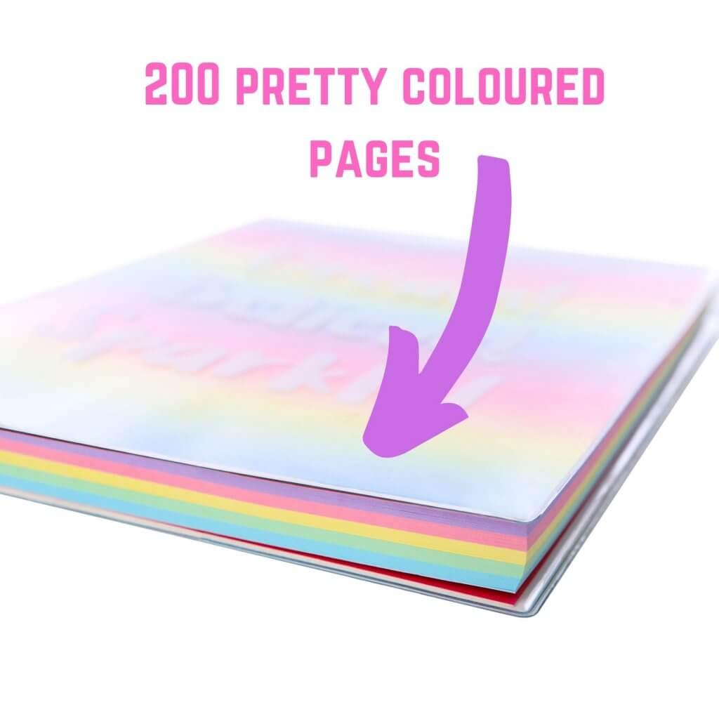 Rainbow Notepad