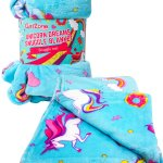 unicorn snuggle blanket