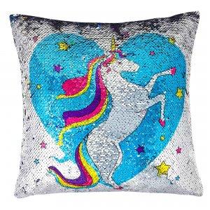 Unicorn Sequin Pillow