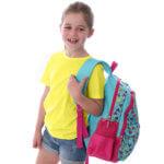 Backpack Jess on side