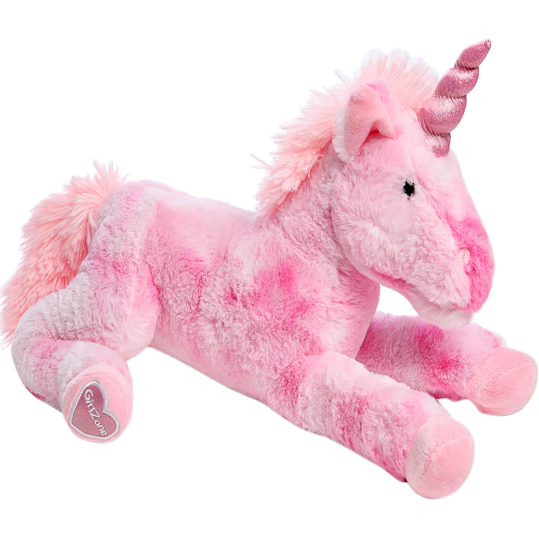 Large Stuffed Pink Unicorn