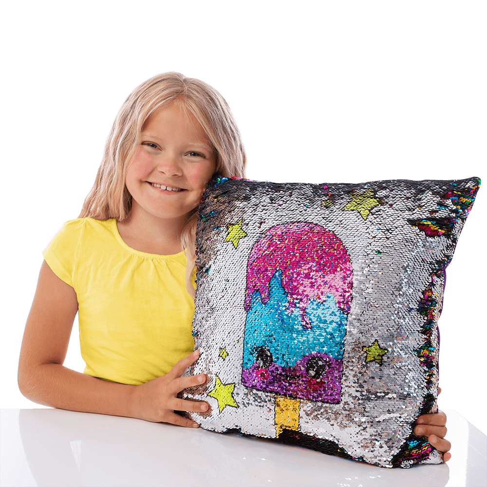 Color Changing Sequin Pillow GirlZone US