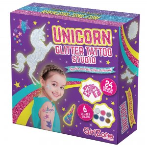 Unicorn Glitter Tattoo Studio