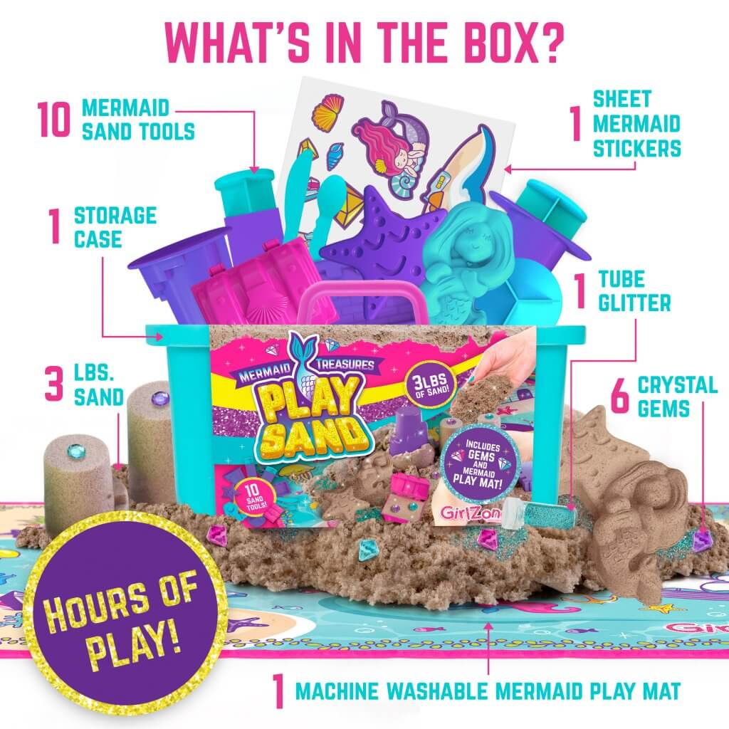 Mermaid Play Sand Kit